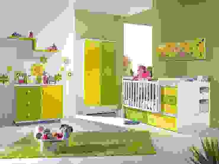 Intense mobiliário e interiores Nursery/kid's roomBeds & cribs MDF Green