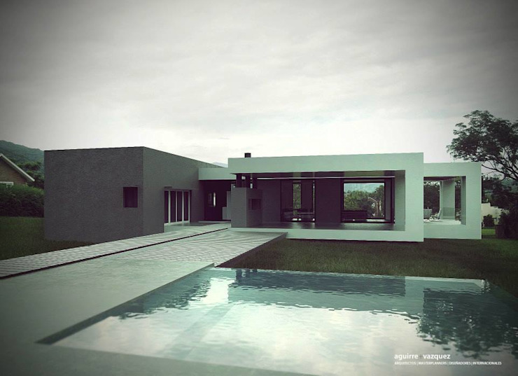 AGUIRRE+VAZQUEZ Modern pool