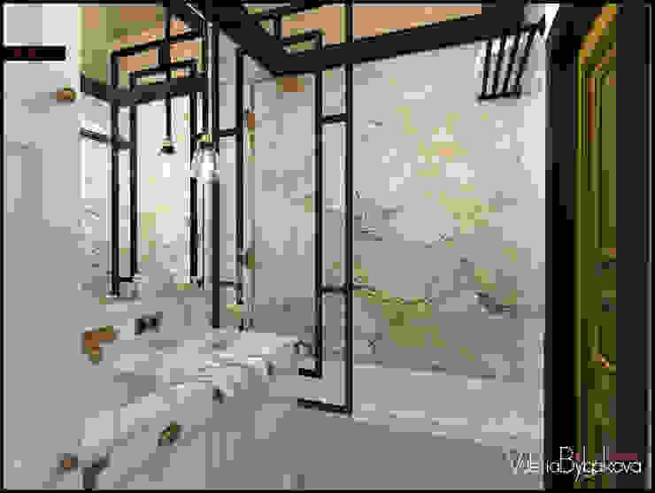 Квартира текстильщики Ванная комната в эклектичном стиле от Valeria Bylgakova&Design group Эклектичный Камень