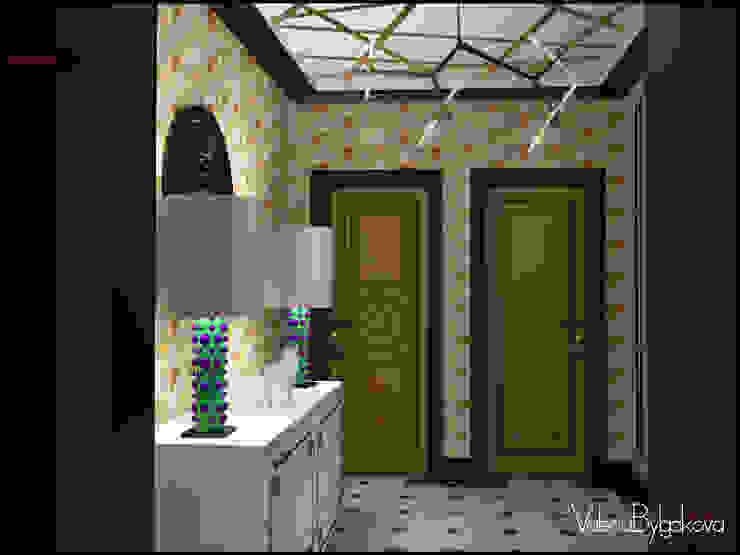 Квартира текстильщики Коридор, прихожая и лестница в эклектичном стиле от Valeria Bylgakova&Design group Эклектичный