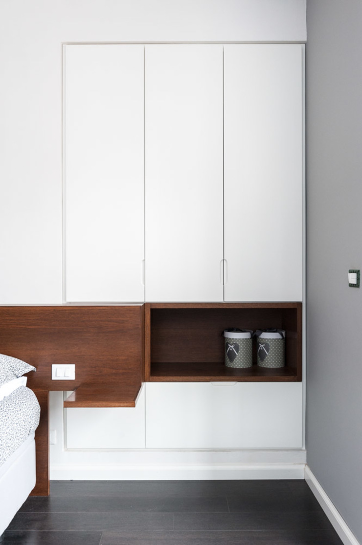 Minimalistische slaapkamers van Paolo Fusco Photo Minimalistisch