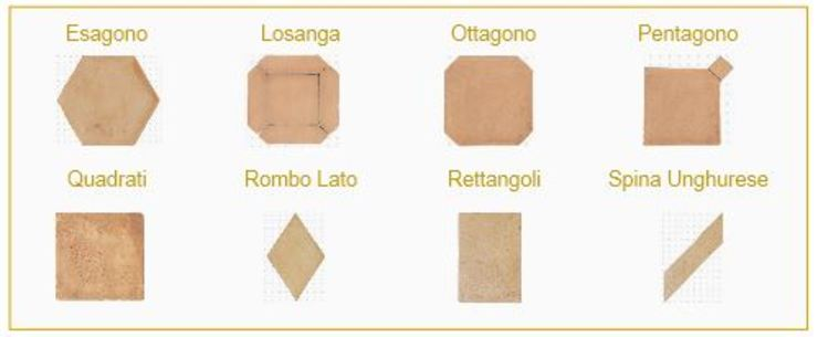Large varieties by Terrecotte Europe Mediterranean Pottery