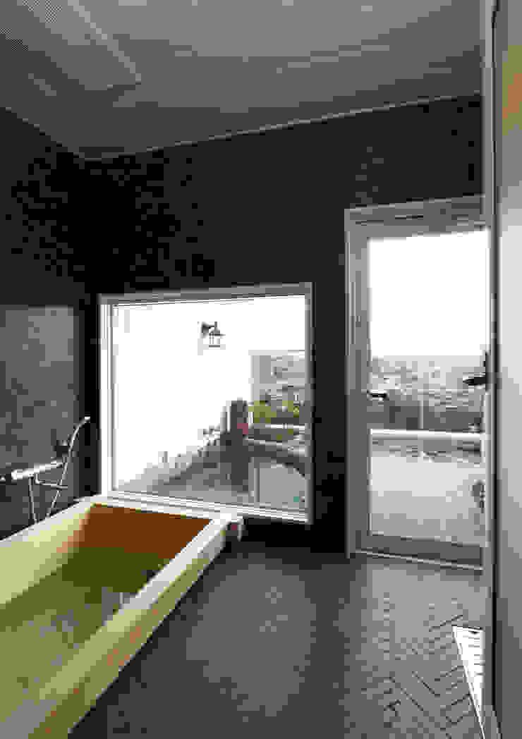 施工事例4 モダンデザインの テラス の ㈱K2一級建築士事務所 モダン