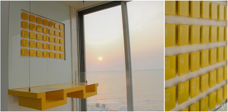 Suspended Industrial Modeled Study: minimalist  by Neha Goel Architects,Minimalist