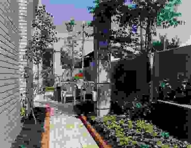 N邸 モダンな庭 の (有)アマ設計事務所 モダン