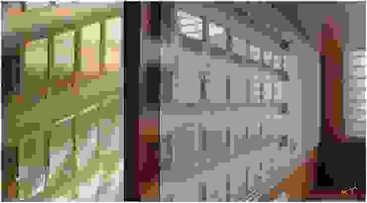 Writable Memory Screen: minimalist  by Neha Goel Architects,Minimalist