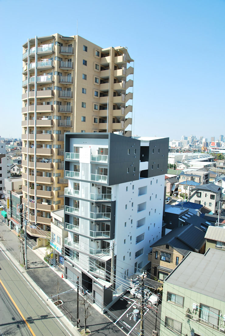 ウエストコート川崎大師 モダンな 家 の nakajima モダン