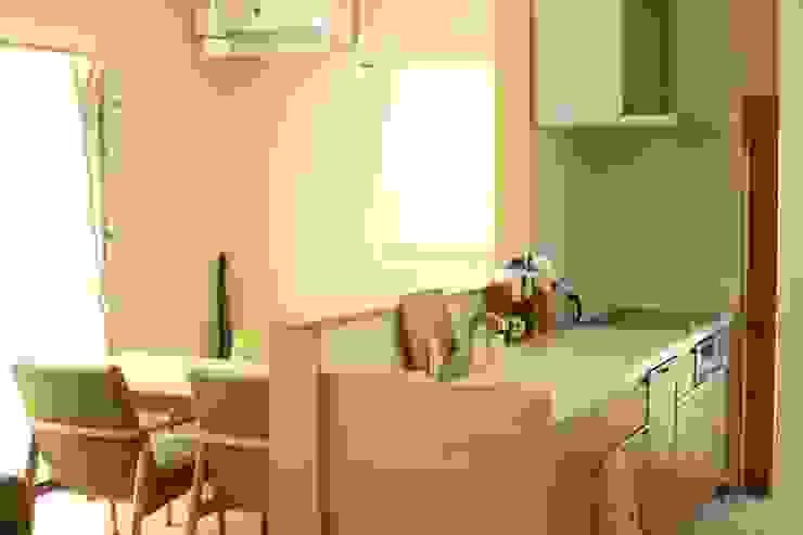 施工事例1 モダンな キッチン の h-takeshi モダン