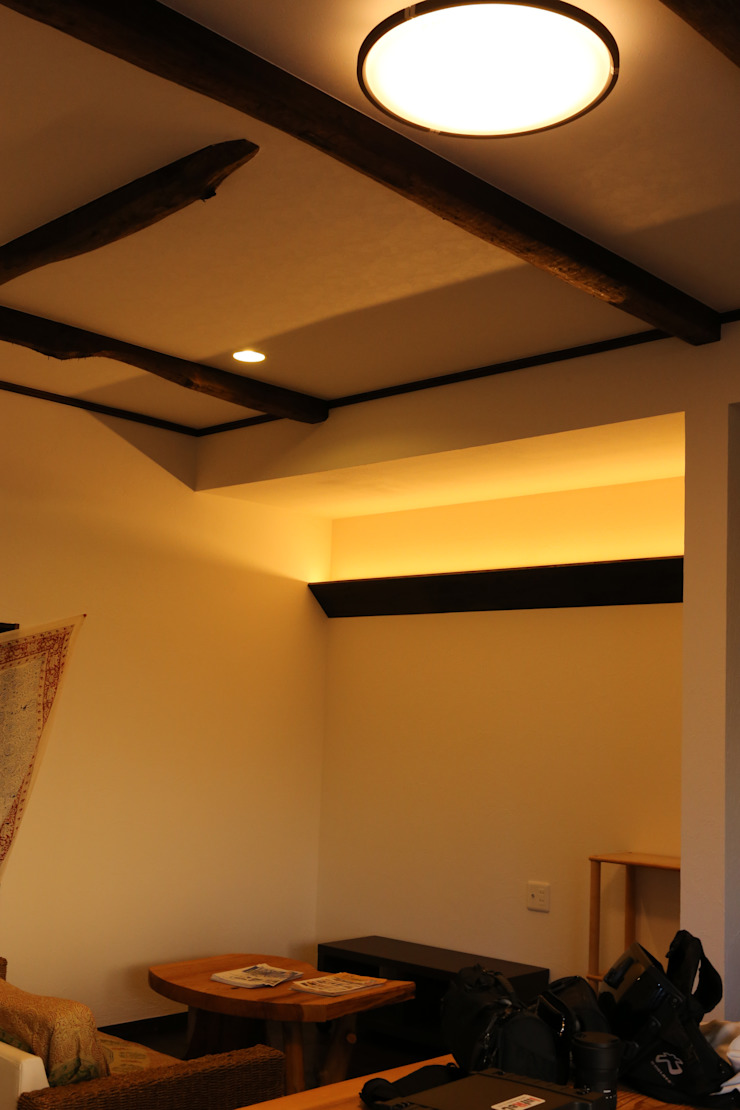 施工事例 2 モダンな 壁&床 の h-takeshi モダン