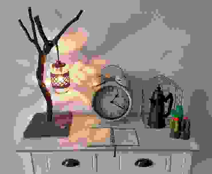 Jar lamps with a twist von WoodWoolDesign Landhaus