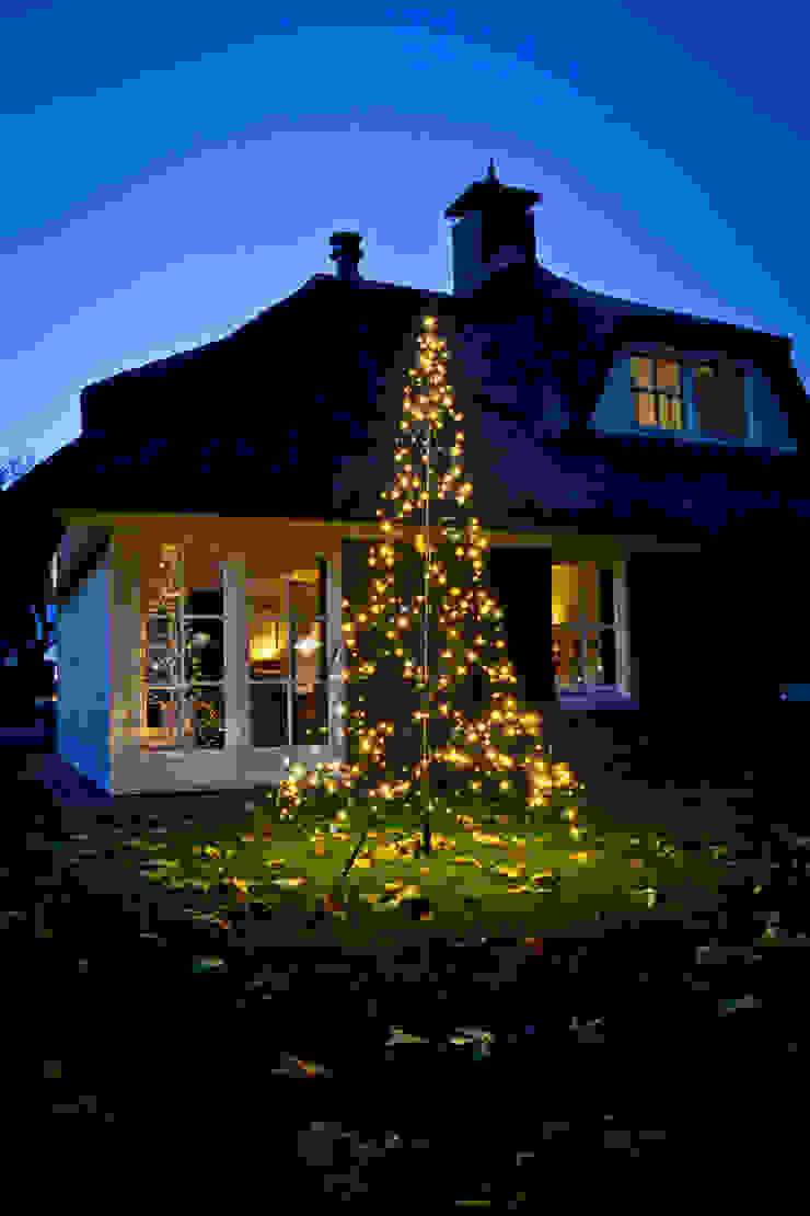 XMAS TREE 3M 360LEDs od SOLAR Lighting - Powered by Nature! Nowoczesny Żelazo/Stal