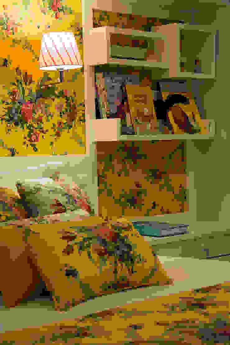 Tecidos personalizados por ARQ Ana Lore Burliga Miranda Campestre Têxtil Ambar/dourado