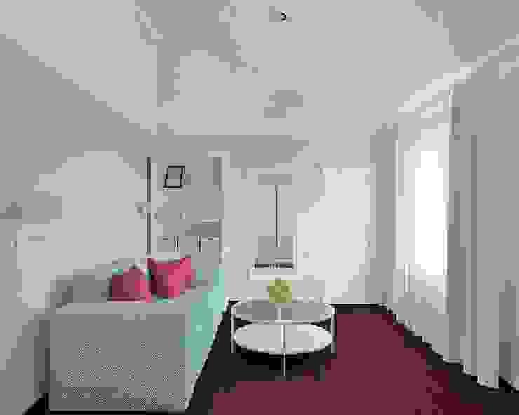 Современная классика с нотками прованса Спальня в стиле кантри от MEL design Кантри