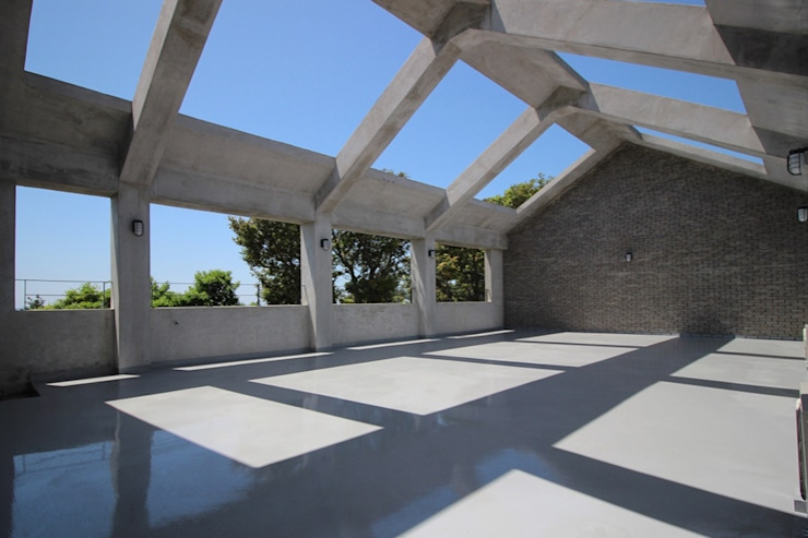Terrasse von 아키제주 건축사사무소, Modern