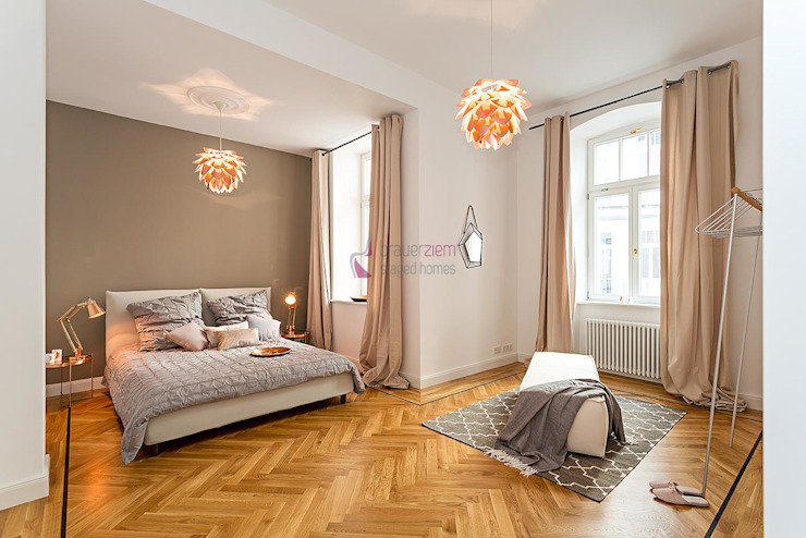 Chambre moderne par staged homes Moderne
