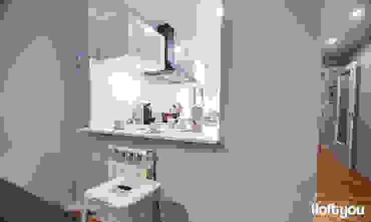 Cucina moderna di iloftyou Moderno