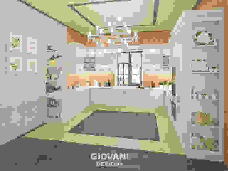 "Дом ""Contemporary"". Кухня Кухня в стиле кантри от Giovani Design Studio Кантри"