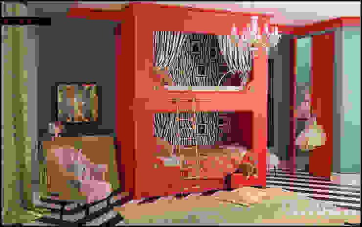 Голливу Детские комната в эклектичном стиле от Valeria Bylgakova&Design group Эклектичный