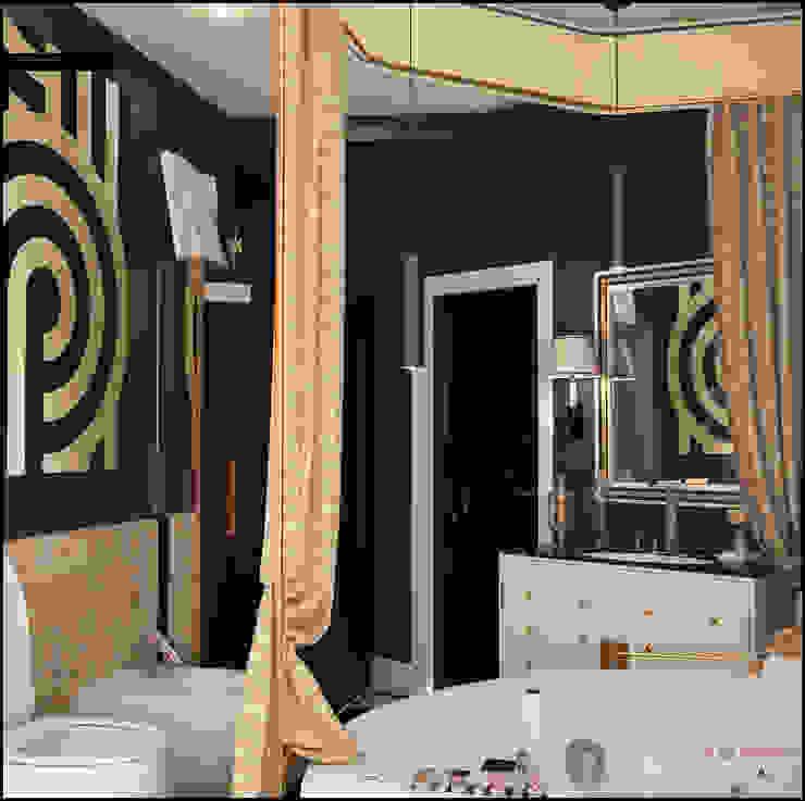 Голливу Ванная комната в эклектичном стиле от Valeria Bylgakova&Design group Эклектичный