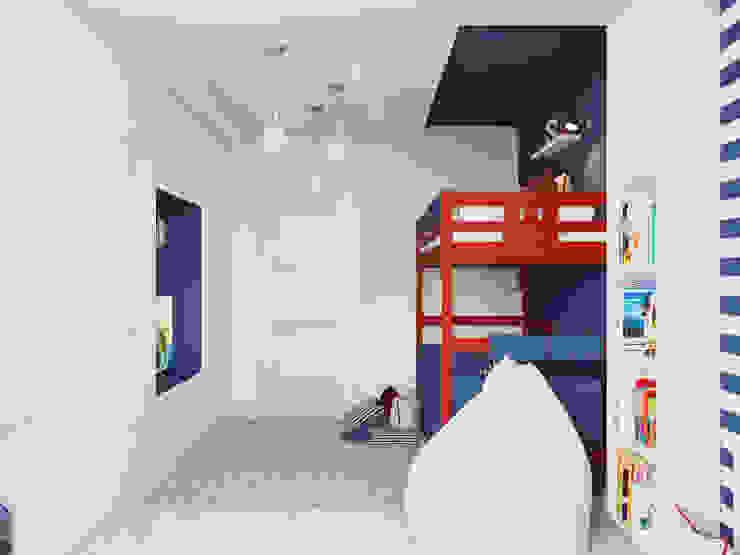 Dormitorios infantiles de estilo mediterráneo de Оксана Мухина Mediterráneo