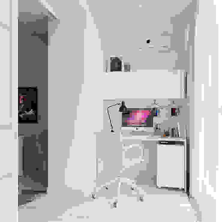 Квартира двухкомнатная Балконы и веранды в эклектичном стиле от Оксана Мухина Эклектичный