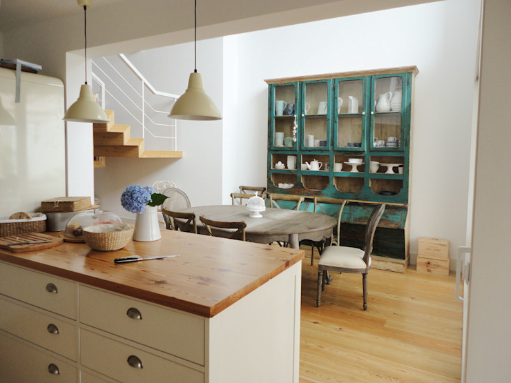 GAAPE - ARQUITECTURA, PLANEAMENTO E ENGENHARIA, LDA Eclectic style dining room