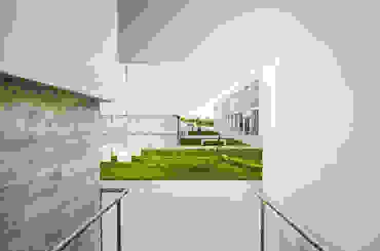 Vista exterior Casas mediterrânicas por guedes cruz arquitectos Mediterrânico