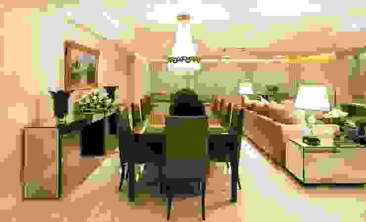 Apartamento G2 Lyssandro Silveira Classic style living room