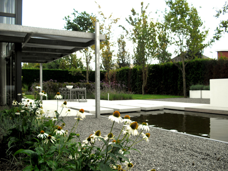 Jardines de estilo moderno de Stoop Tuinen Moderno