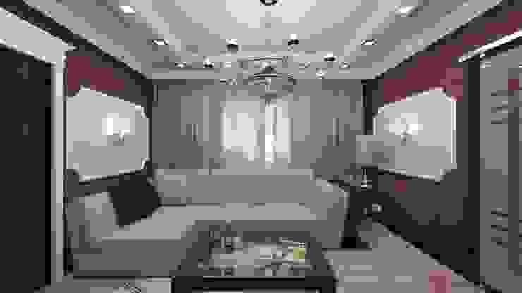 Интерьер 2-х комнатной квартиры Гостиная в классическом стиле от Константин Паевский-PAEVSKIYDESIGN Классический