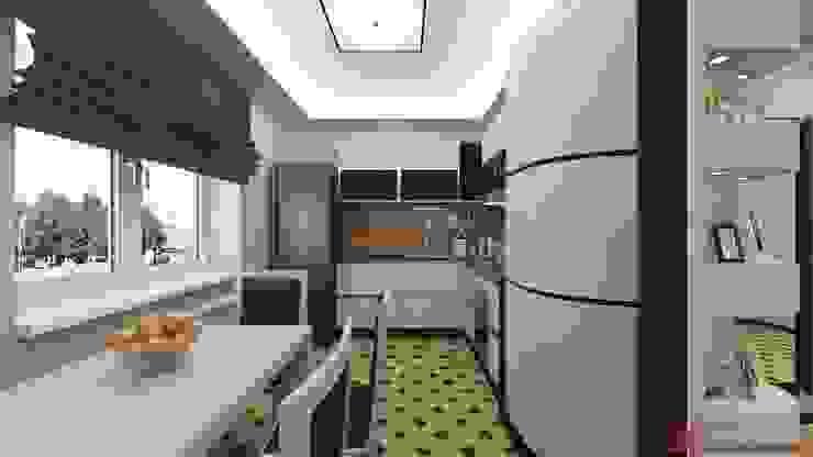 Интерьер 2-х комнатной квартиры Кухня в классическом стиле от Константин Паевский-PAEVSKIYDESIGN Классический
