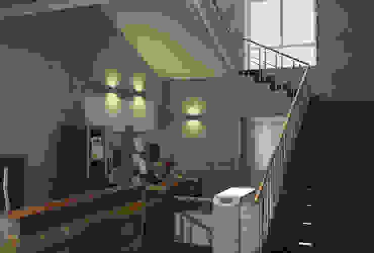 Холл в заводском комплексе от MEL design Лофт
