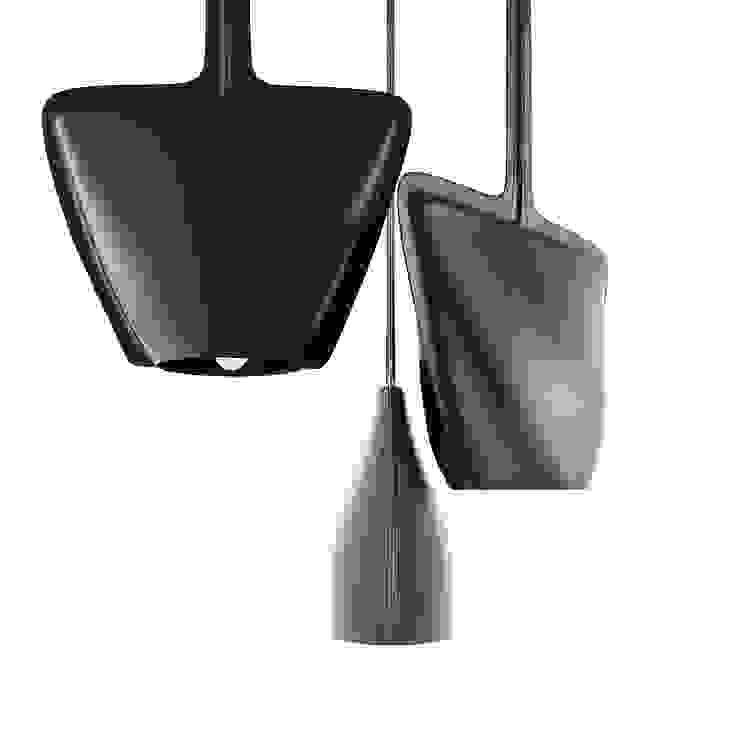 в современный. Автор – U-Style design studio, Модерн Кожа Серый