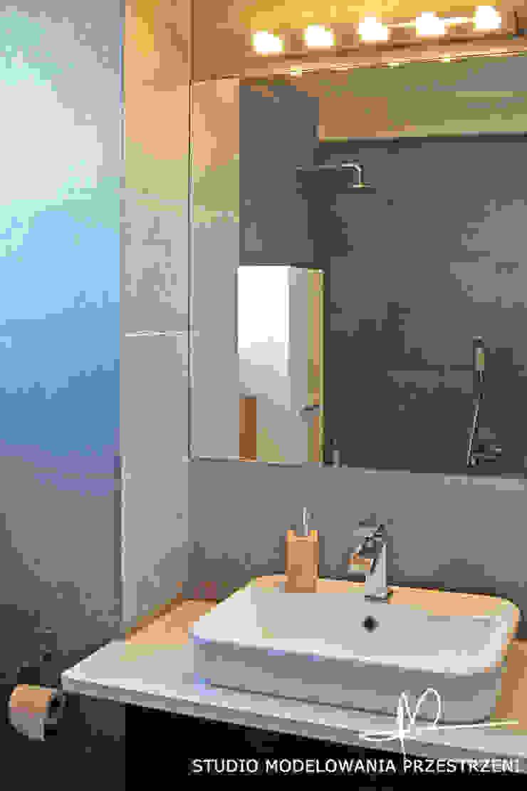 Modern bathroom by Studio Modelowania Przestrzeni Modern