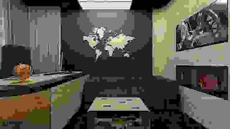 Квартира в современном стиле Рабочий кабинет в стиле минимализм от Константин Паевский-PAEVSKIYDESIGN Минимализм