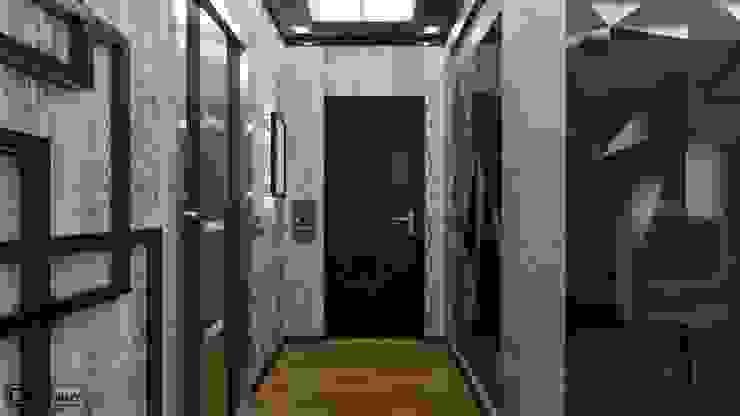Квартира в современном стиле Коридор, прихожая и лестница в стиле минимализм от Константин Паевский-PAEVSKIYDESIGN Минимализм