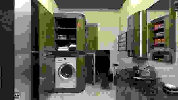 Квартира в современном стиле Ванная комната в стиле минимализм от Константин Паевский-PAEVSKIYDESIGN Минимализм