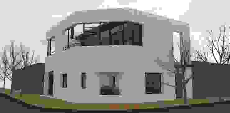 現代房屋設計點子、靈感 & 圖片 根據 UFV 72 Arquitectura Integral 現代風