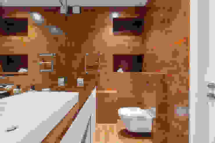 Минималистичная квартира Ванная комната в стиле минимализм от U-Style design studio Минимализм