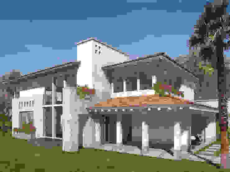 Casa Valle Real- Boué Arquitectos Casas rústicas de Boué Arquitectos Rústico