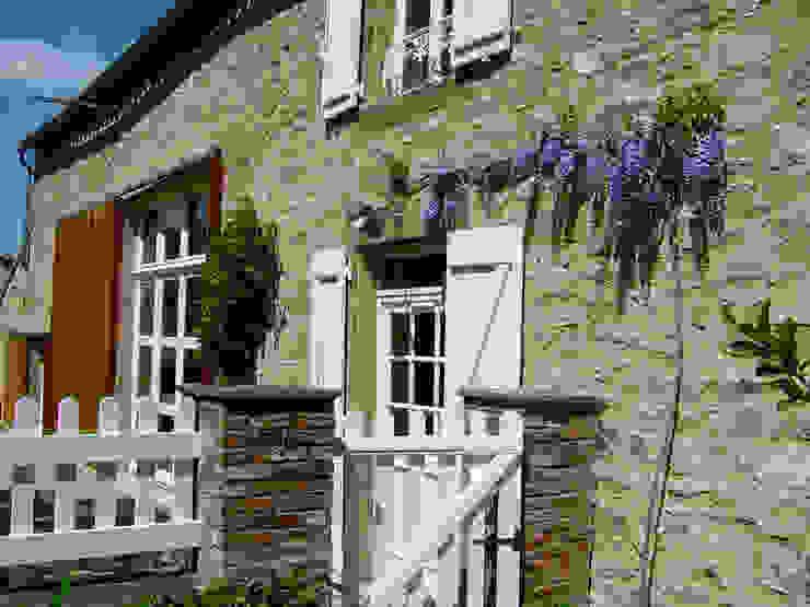 Casa Les Galeries- Boué Arquitectos : Casas de estilo  por Boué Arquitectos, Rústico