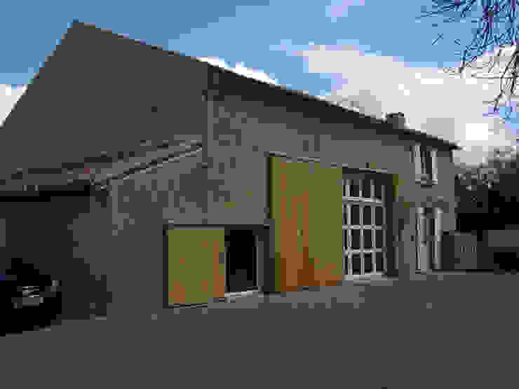 Casa Les Galeries- Boué Arquitectos Casas rústicas de Boué Arquitectos Rústico