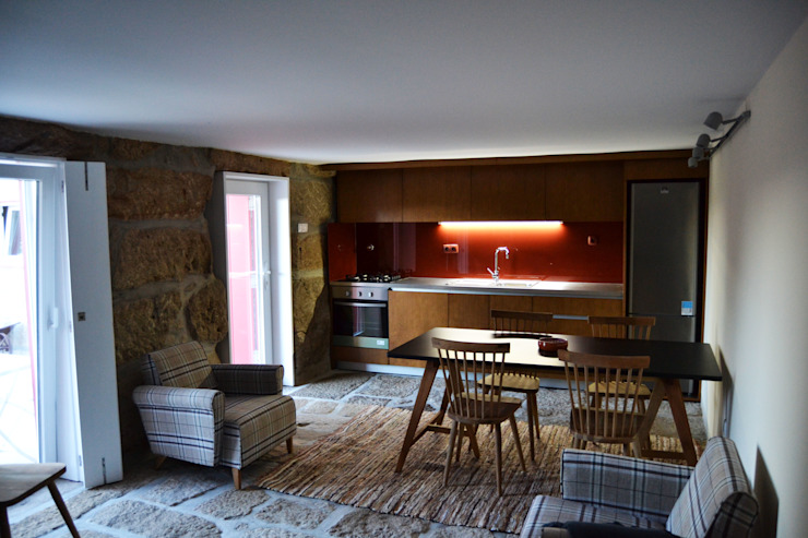 Cozinha piso -1:   por raul sousa cardoso arqt