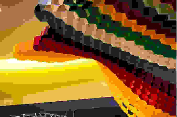 Expo CIHAC 2013 Paredes y pisos de estilo moderno de AMOATO STUDIO SA DE CV Moderno Papel