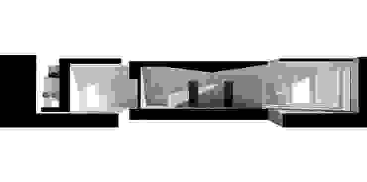 MAQUETA COLECTIVO arquitectos Paredes e pisos minimalistas