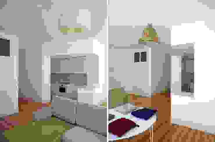 FOTOGRAFIAS Salas de estar minimalistas por COLECTIVO arquitectos Minimalista