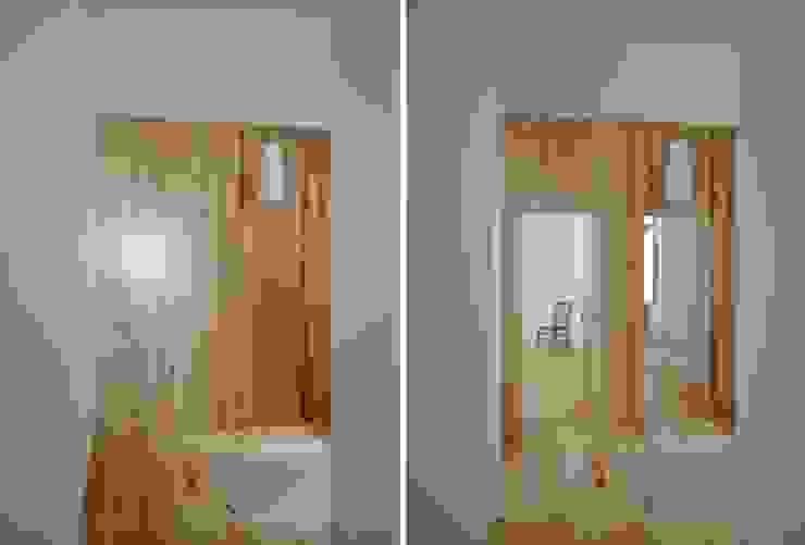 FOTOGRAFIAS Corredores, halls e escadas minimalistas por COLECTIVO arquitectos Minimalista