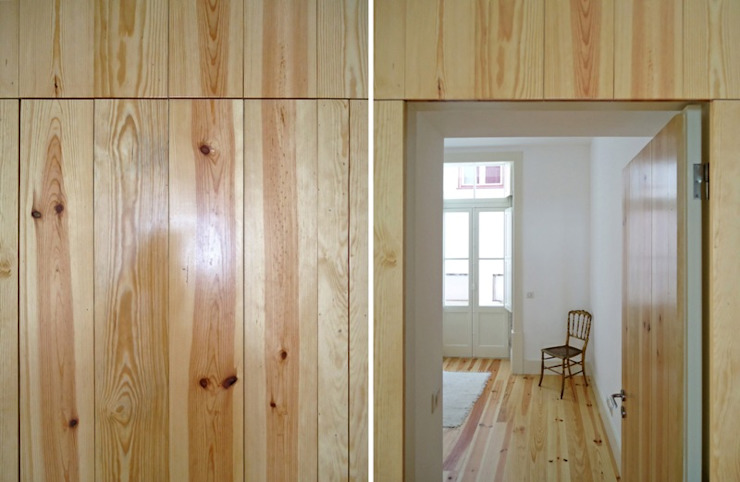 FOTOGRAFIAS Janelas e portas minimalistas por COLECTIVO arquitectos Minimalista