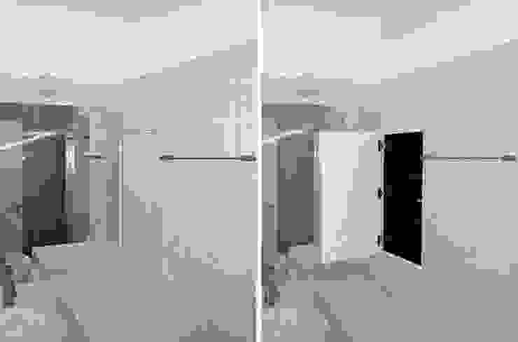 FOTOGRAFIAS Casas de banho minimalistas por COLECTIVO arquitectos Minimalista