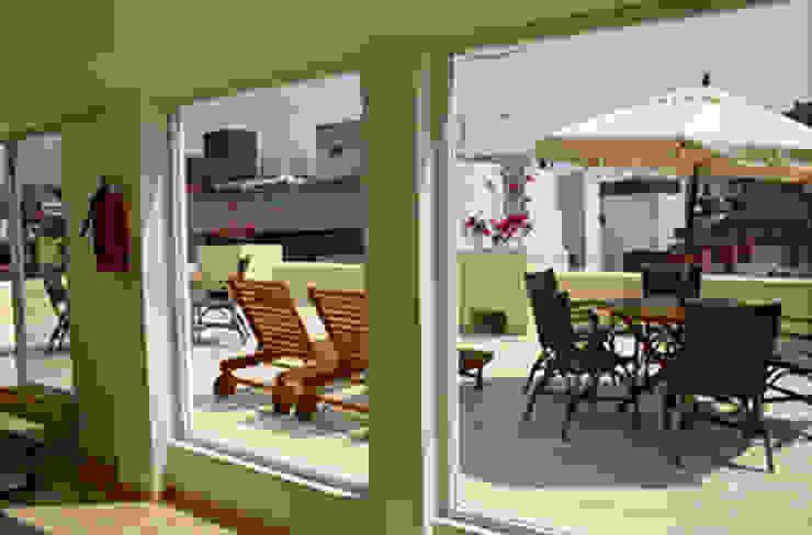 Sinaloa 107- Boué Arquitectos Balcones y terrazas modernos de Boué Arquitectos Moderno